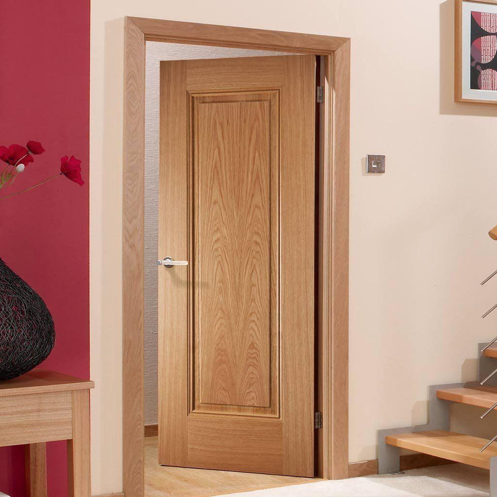Fire Door Eindhoven 1 Panel Oak 1 2 Hour Fire Rated Prefinished Bedroom Door Design Wooden Doors Interior Doors Interior
