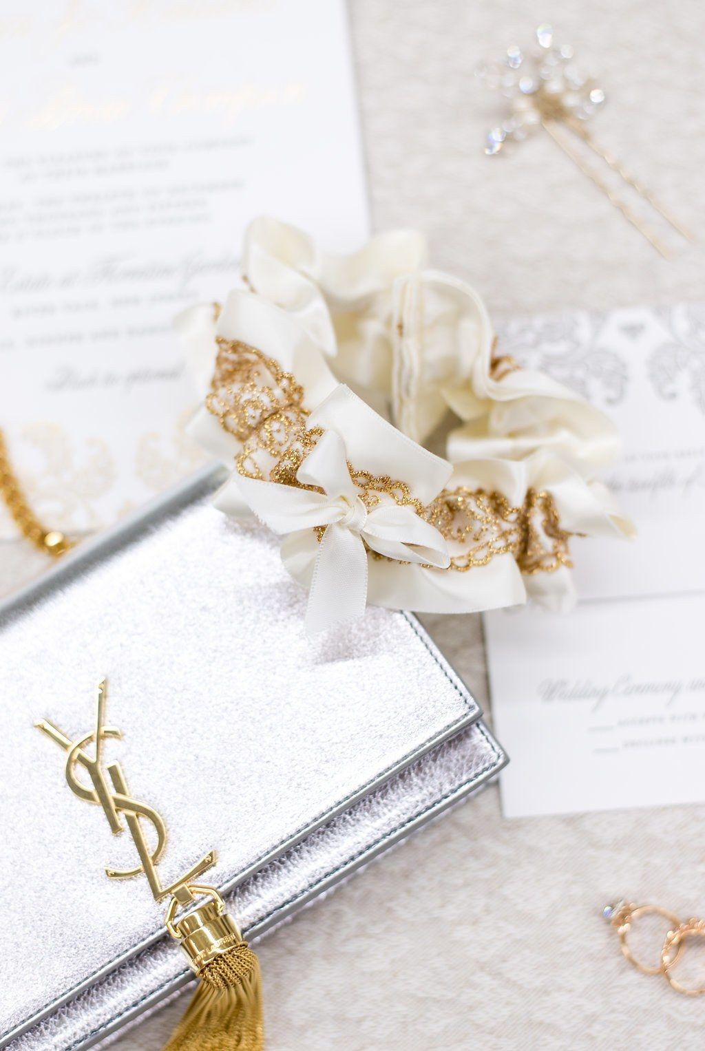 Everything You Need to Know About Wedding Garter Traditions, Old and ...
