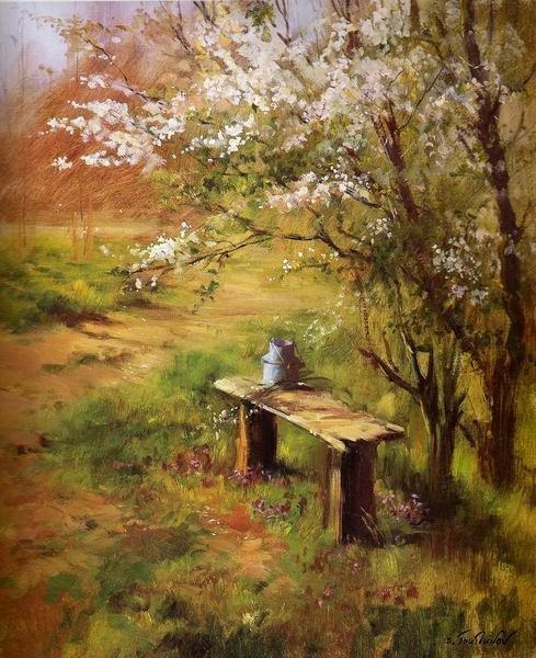 Serguei Toutounov En 2020 Peinture Paysage Peintre Et Peinture
