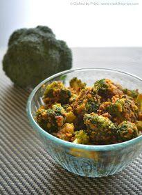 Broccoli Indian Recipe Broccoli Side Dish Recipe Veg Dry