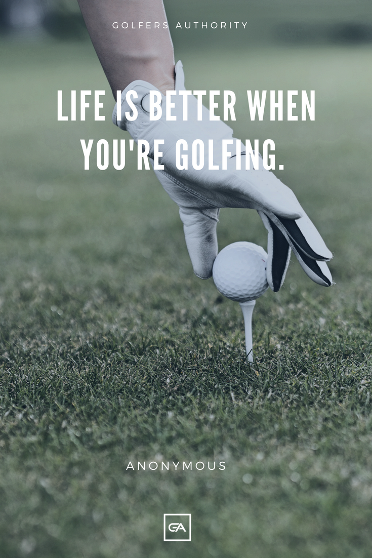 At Golfers Authority we are here to not only help you with