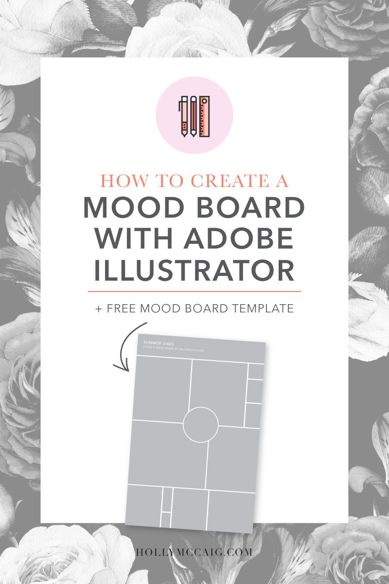 How to Create a Mood Board with Illustrator | Brand design, Graphic ...