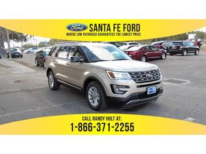 2017 White Gold Metallic Ford Explorer Xlt 367101 With Images