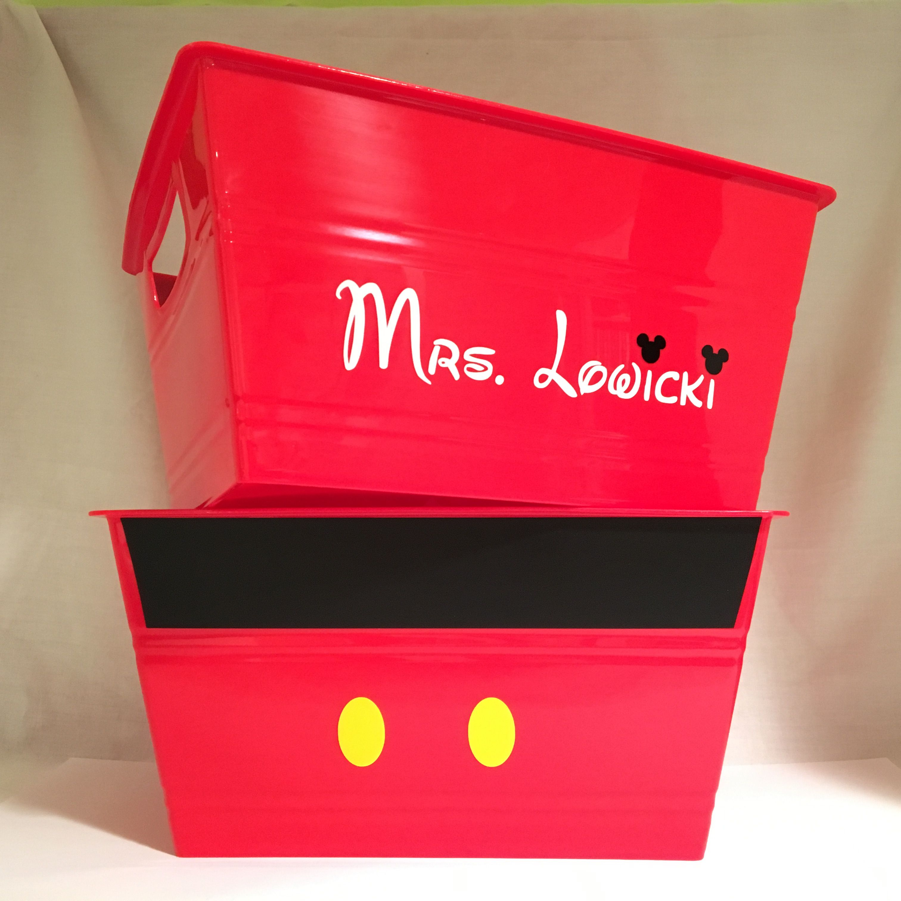 Mickey Mouse Inspired Buckets For A Mickey Mouse Themed