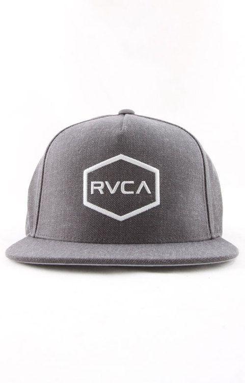 RVCA Men s Commonwealth II Snapback Hat Grey · Snapback CapBaseball ... 0994866f8b13