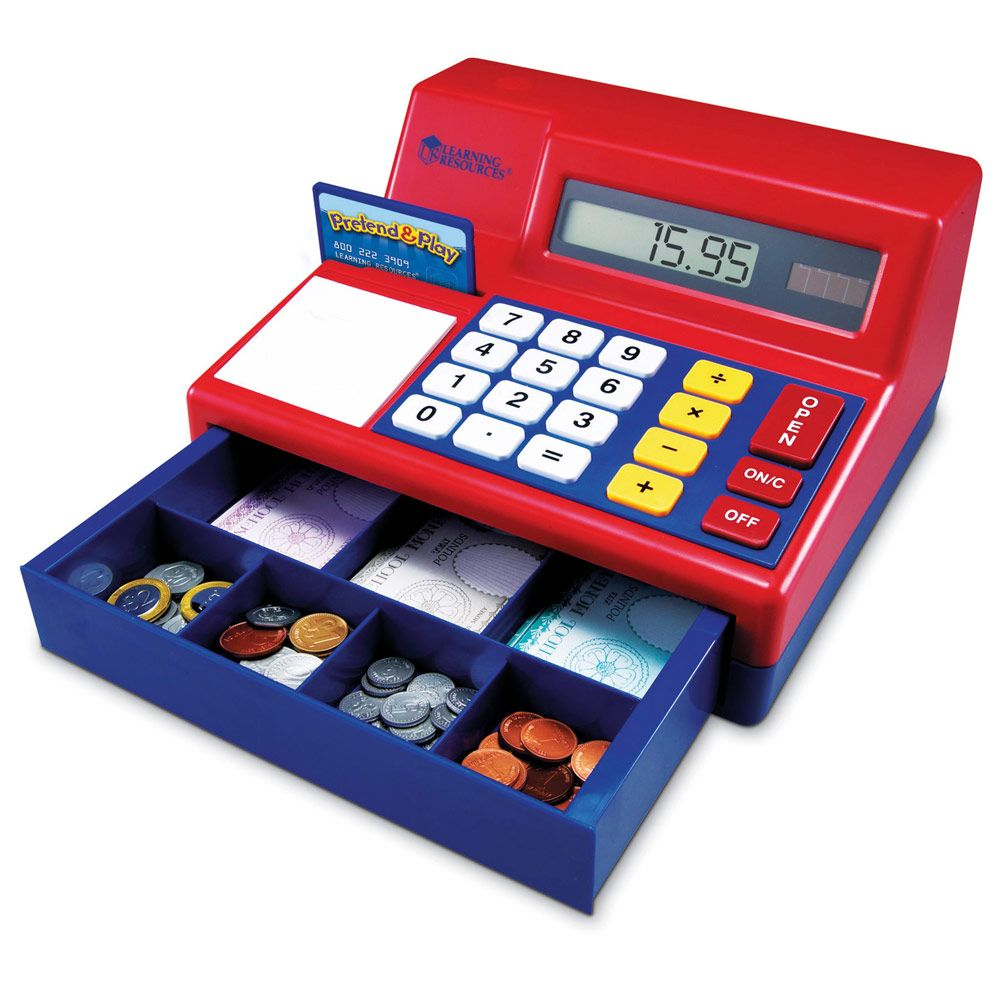 how to fix learning resources cash register