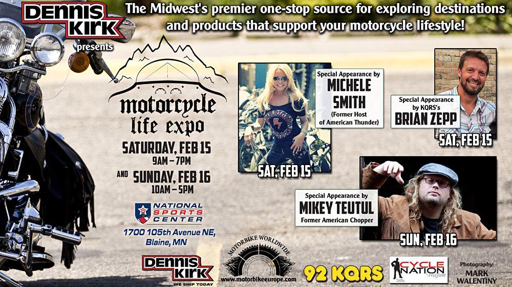 MOTORCYCLE LIFE EXPO, MINNESOTA, USA www.motorbikeeurope
