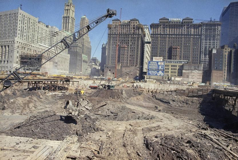 Pin On World Trade Center As It Was