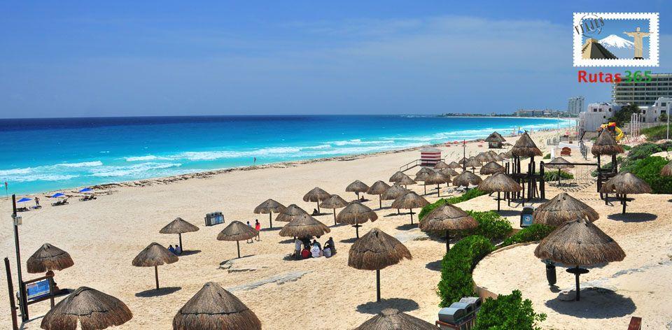 Las Perlas, Playa Linda y Tortugas son algunas de las paradisiacas playas en Cancún que debes visitar. Averigua cuáles son las demás en este Top 10: http://www.rutas365.com/top-10-mejores-playas-de-cancun-mexico/