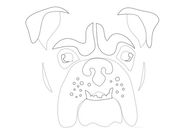 pumpkin carving stencils dog. bulldog stencil {awesome freezer paper tee} this link also has kitty and the bhg other dog stencils pumpkin carving
