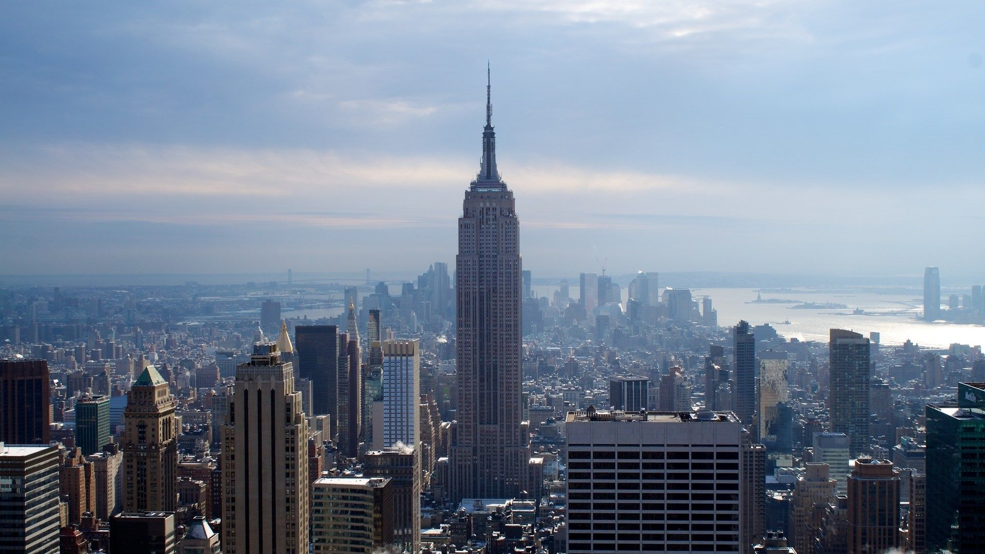 Backgrounds High Resolution Empire State Building Picture Graeme Birds 1920x1080 Empire State Building Empire State City Wallpaper