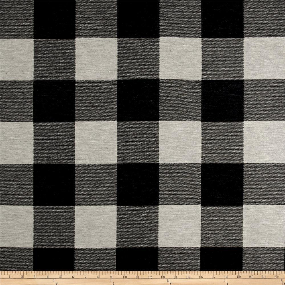 Artistry Buffalo Check Jacquard Black White Buffalo Check Curtains Buffalo Check Fabric Check Curtains