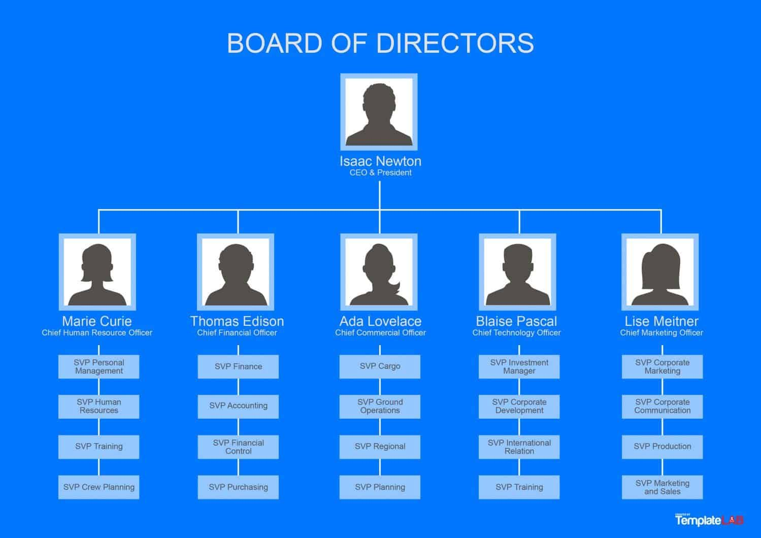 40 Organizational Chart Templates Word Excel Powerpoint Org