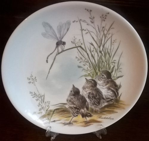 Vintage Johann Seltmann Vohenstrauss decorative wall plate ...