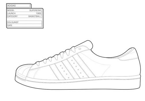 Sneaker Coloring Book | Shoes | Pinterest | Coloring books, Sketches ...
