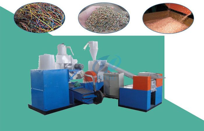 Copper wire granulator machine can be used for stripping copper wire ...
