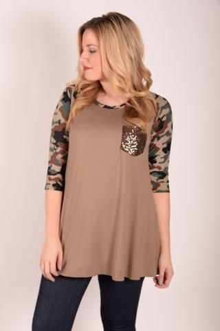 You Can't Hide Beautiful - Taupe - RC618TA