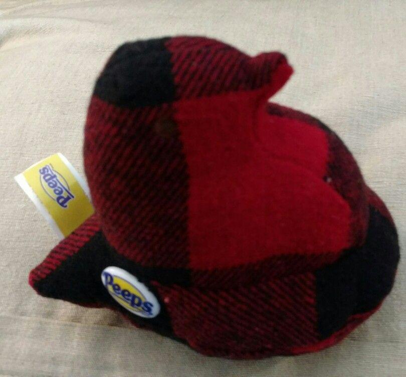 Christmas red plaid peep plush, found at Cracker Barrel | ~ Home ...