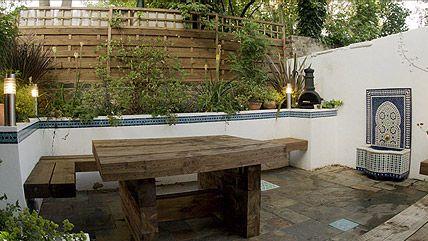 moroccan garden design on Garden Design Stoke Newington Moroccan