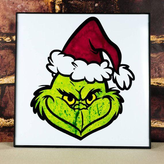 The Grinch Art Print by CreatureCraftsNYC on Etsy