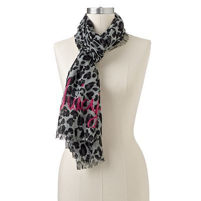 Juicy Couture Cheetah Scarf now sold at Kohls