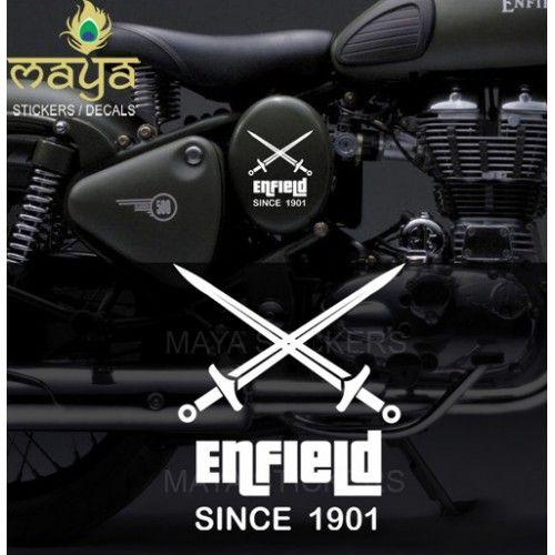 Custom Designed Crossed Swords Vinyl Sticker Decal For Royal - Custom stickers for bikes