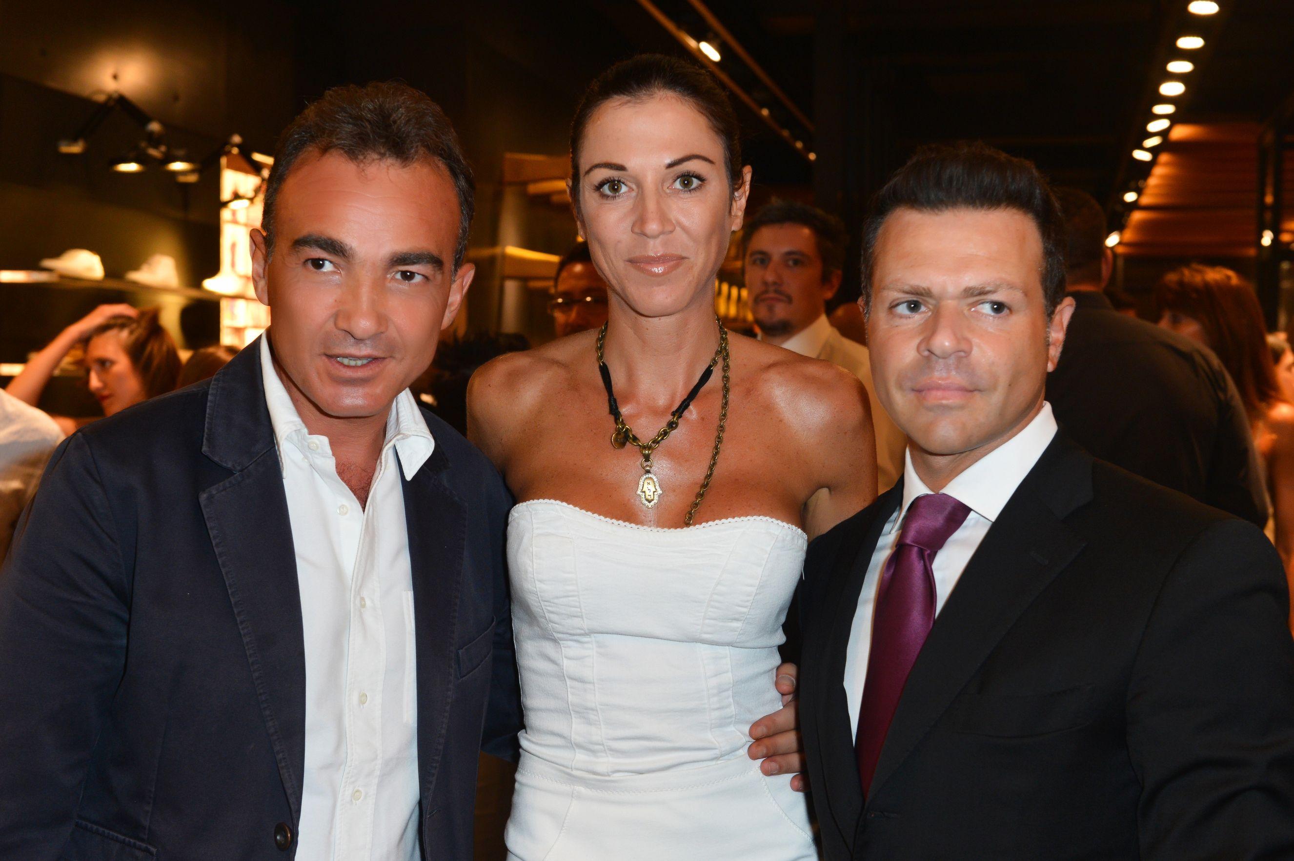 Antonio Gallo, Federica Torti, Fabrizio Politi