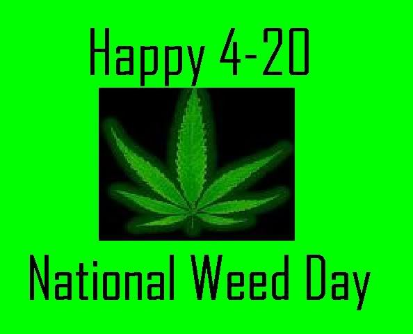 Is The National Weed Day Beginning In The April  Is The Day Of The Year In Leap Years In The Gregorian Calendar