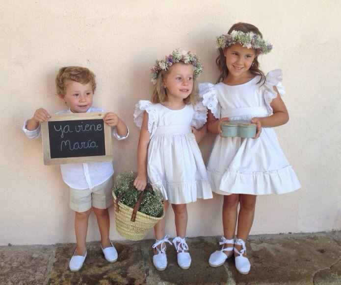 88e2355a5d vestidos pajes bodas Vestido Para Niñas Boda
