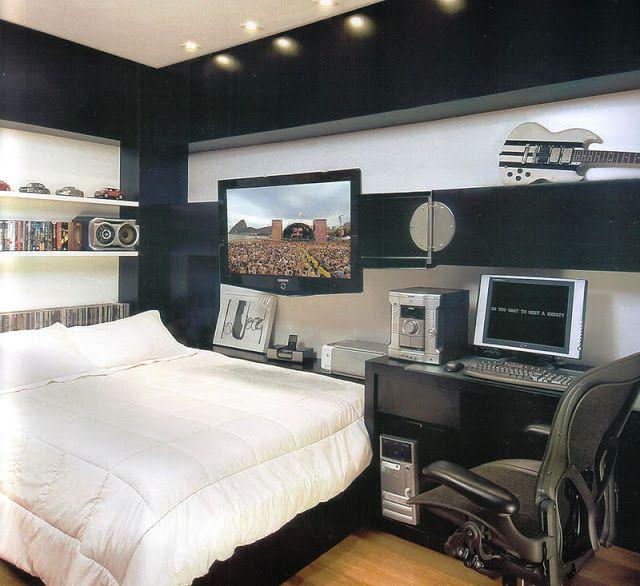 Dormitorios matrimoniales muebles negros decoraci n - Decoracion de paredes de dormitorios matrimoniales ...