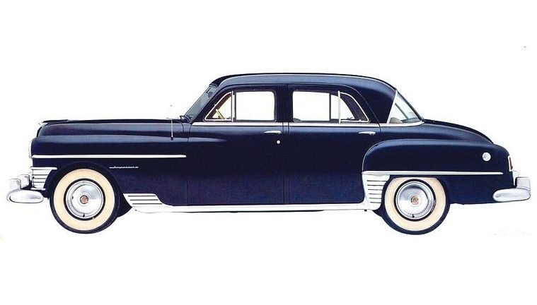 1950 Chrysler Imperial Black Car Picture Old Car Pictures With