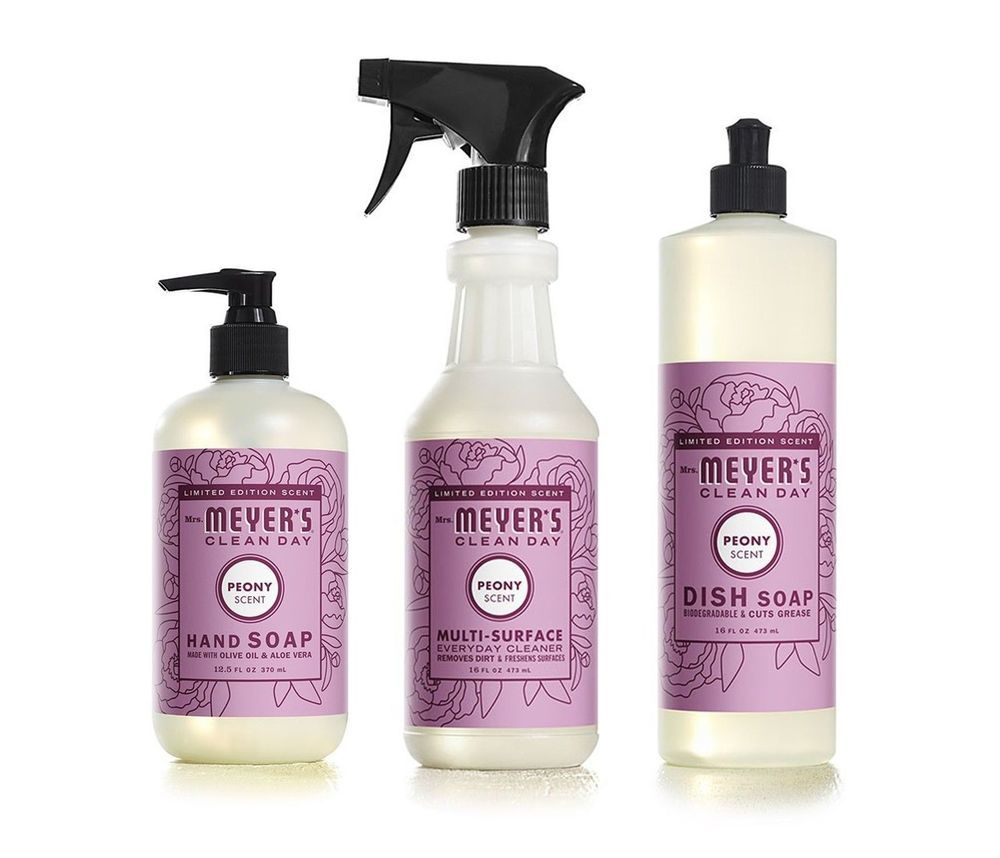Details About Mrs Meyers Clean Day Peony Scent Kitchen