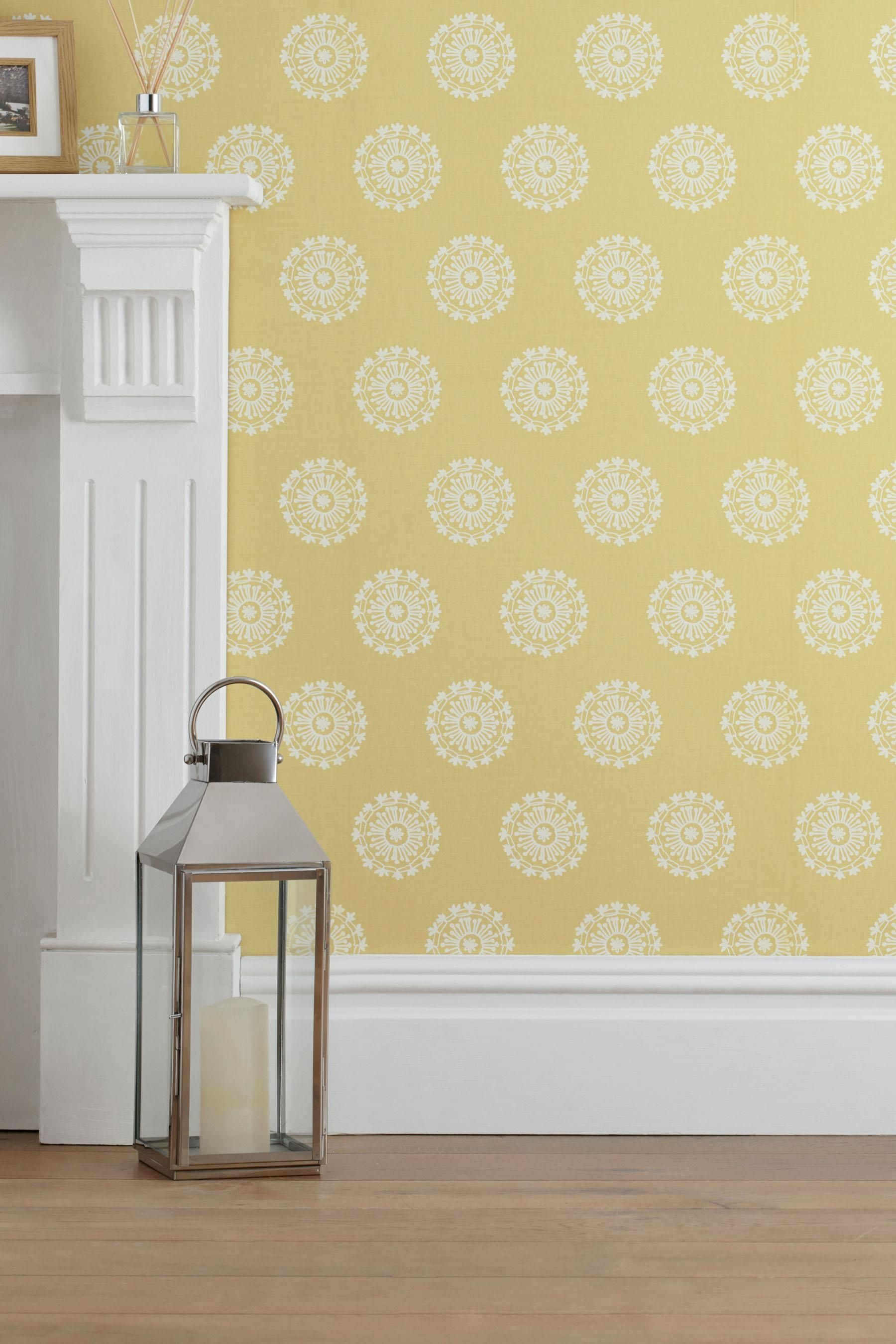 Buy Ornate Motif Wallpaper from the Next UK online shop | Bedroom ...