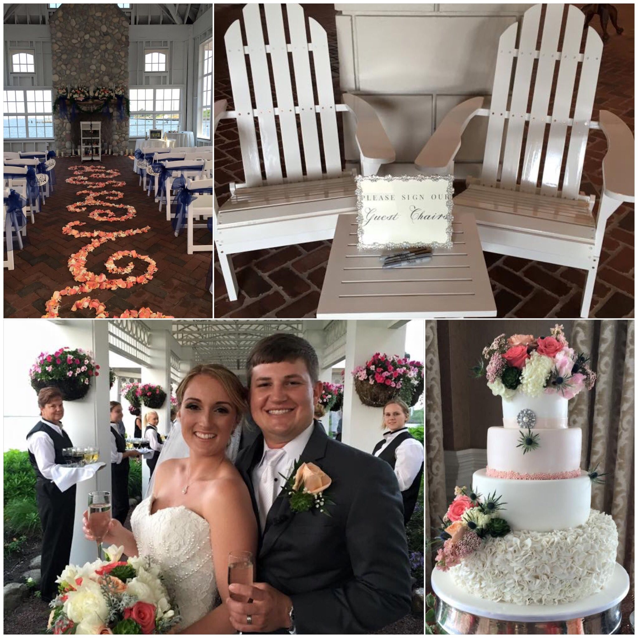 Exclusive Waterfront Wedding: Congratulations To Courtney & Karl On Their Wedding At