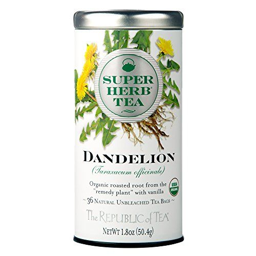 The Republic Of Tea Organic Dandelion Superherb Herbal Tea 36 Tea Bags CaffeineFree NonGmo Verified *** Learn more by visiting the image link. Note: It's an affiliate link to Amazon.