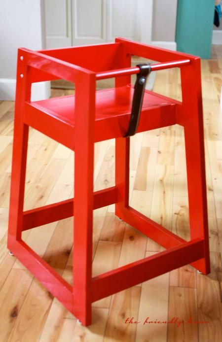 Build Your Own Restaurant Style High Chair Add A Pop Of Color To