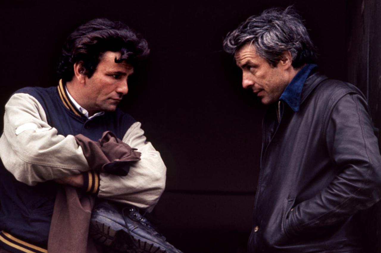 John Cassavetes Amp Peter Falk Filming A Woman Under The Influence John Cassavetes Peter Falk Columbo Peter Falk