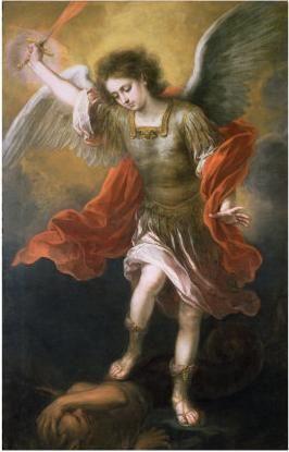 Una de las Pinturas de San Miguel Arcángel que me gustan más