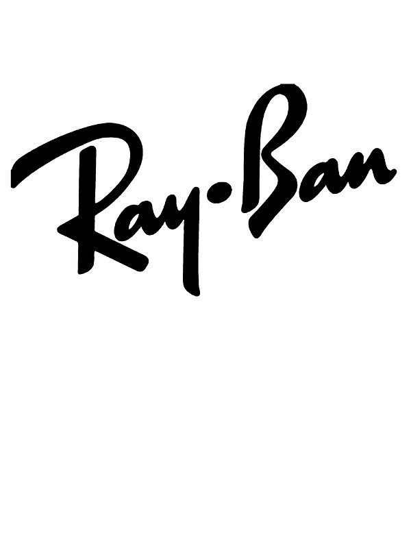 Ray Bans Logo Sticker By Mattsstuff Stickers In 2019