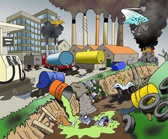 Que son los problemas ambientales problema ecologico o for Soluciones tecnico sanitarias