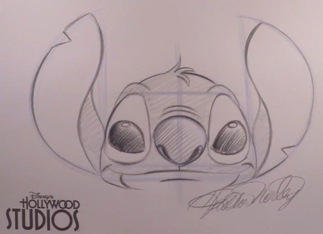 Dessin Au Crayon De Papier Disney Apprendre A Dessiner Stitch De