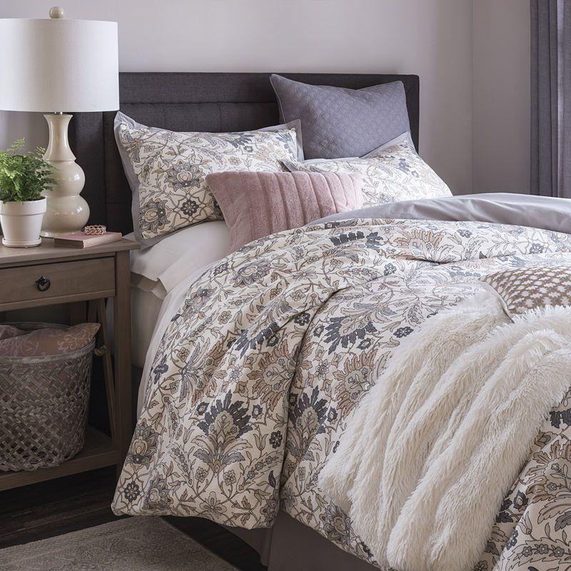 JCPenney Home Marion 4-pc. Floral Comforter Set | Comforter ...