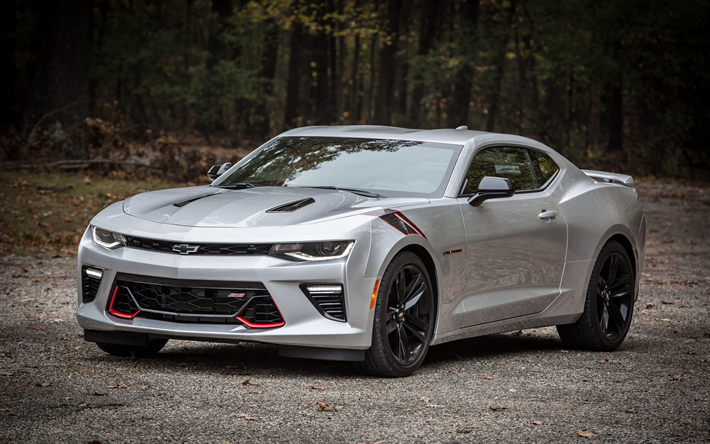 Download wallpapers Chevrolet Camaro SS, 4k, offroad, 2018 ...