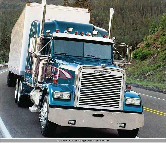 Freightliner Fld120 Classic Freightliner Freightliner Trucks Big Trucks