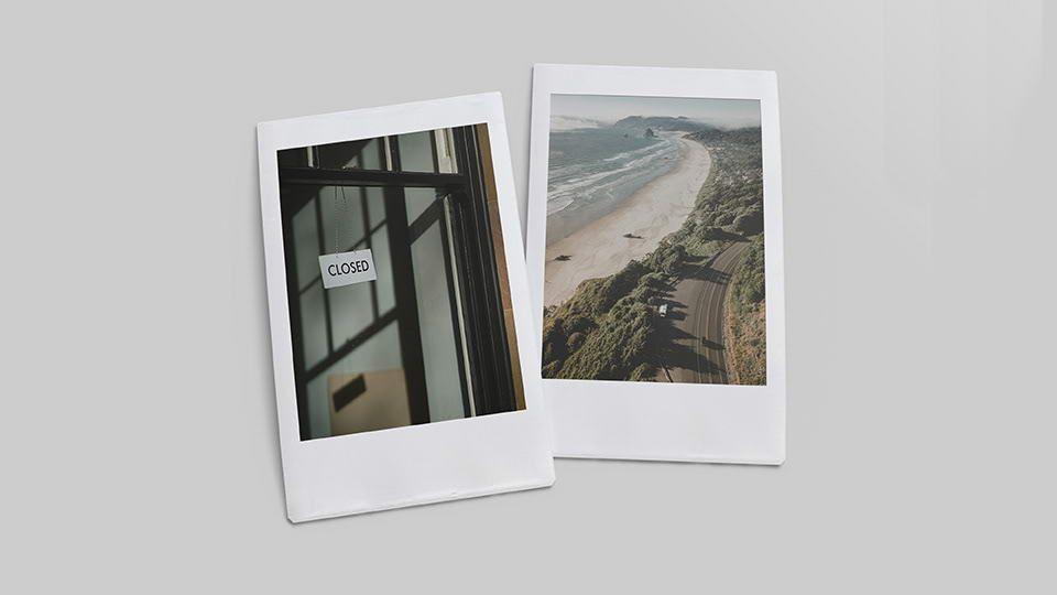 Free Polaroid Mockup Pinspiry Mockup Mockup Free Psd Mockup Psd