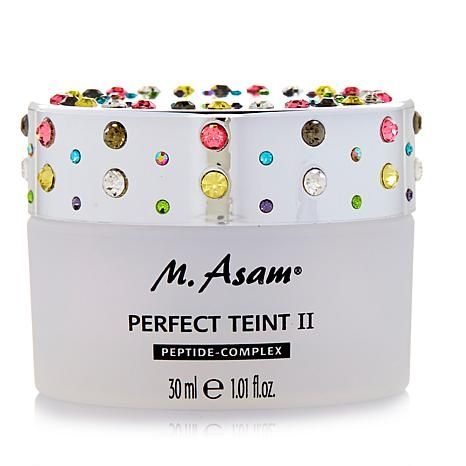 M Asam Perfect Teint Ii Multicolored Faux Crystals As Crystals Faux Perfection