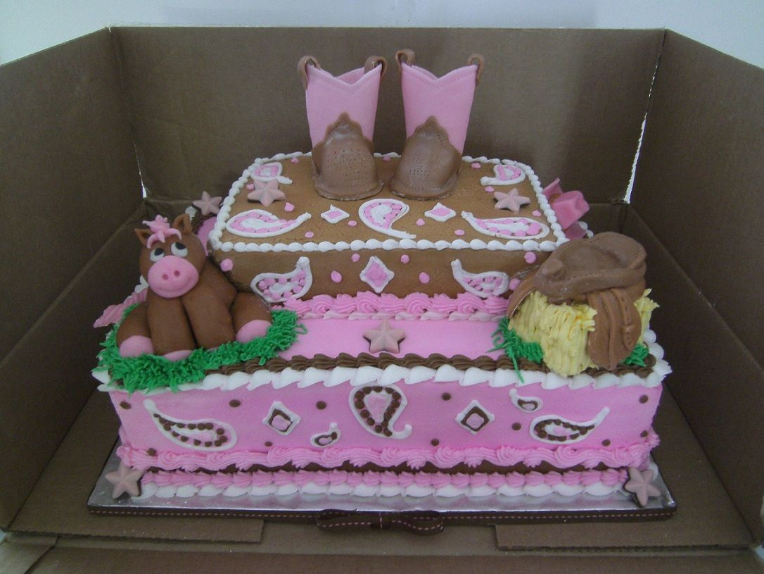 Cowgirl Birthday Decorations 17 Best Images About Cowboy Cowgirl Cakes Y Farm Cakes On