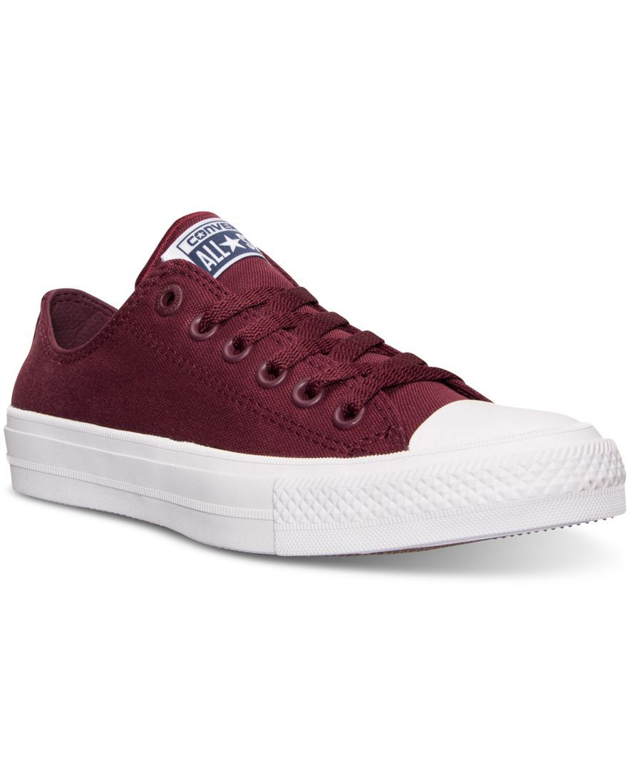 47cf5ef13884 Converse Women s Chuck Taylor All Star Ii Ox Casual Sneakers from Finish  Line