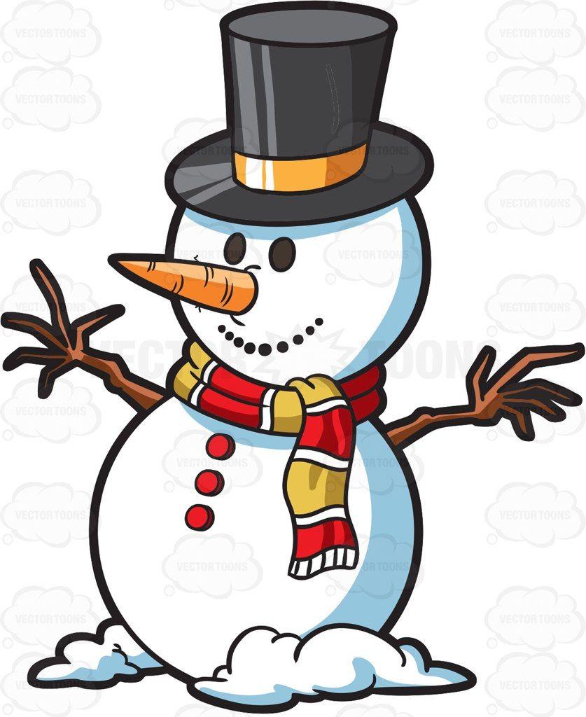 A Christmas Snowman Snowman Cartoon Christmas Snowman Snowman Wallpaper