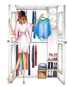 Fashion illustration by Lindsey Kate